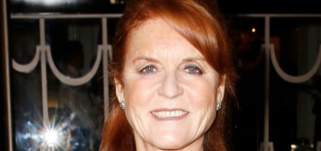 Sarah Ferguson handles scandal by 'apologizing profusely' to herself & others