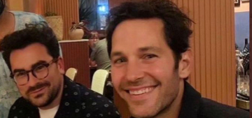 Restaurant owner: Paul Rudd looks young because he's a good man