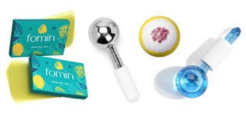 Face globes, bath bombs, star sign necklaces and capri leggings