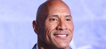 The Rock says he showers three times a day: 'Face wash, body wash, exfoliate'