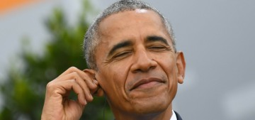 Barack Obama really did scale back his birthday party & disinvite guests