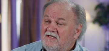 Thomas Markle sent a bouquet of roses to Meghan, then told TMZ about it