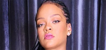 Rihanna posted videos of people saying she smells great