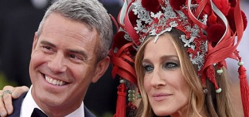 Andy Cohen & Sarah Jessica Parker are 'taking a year off' from the Met Gala