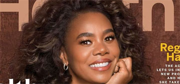 Regina Hall: I've always washed my face before bed and use argan oil