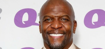 Terry Crews: 'First of all, if you ain't been sweating, you don't need to shower'