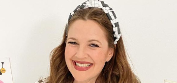 Drew Barrymore on how often her daughters bathe: 'The smell can get real'