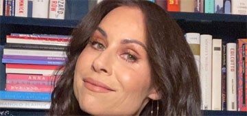 Minnie Driver watches 80s films with her son, explains that the women are stereotypes