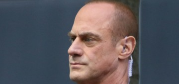 Christopher Meloni was shocked by how much he 'missed seeing people's faces'