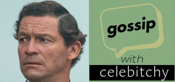 'Gossip With Celebitchy' podcast #100: Does Dominic West look like Prince Charles?