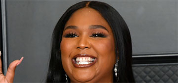 Lizzo, like Matthew McConaughey, doesn't wear deodorant, is 'with him on this'