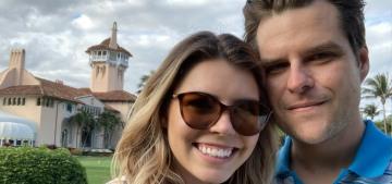 Rep. Matt Gaetz eloped with Ginger Luckey in CA, he's still under investigation