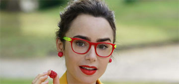 Lily Collins: 'I love baking. I see it as very therapeutic'