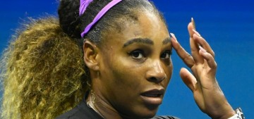 Serena Williams withdrew from the US Open due to a hamstring injury