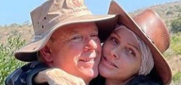 Princess Charlene posted photos of herself & Albert, and this is such a mess