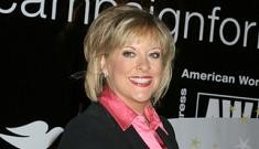 Semi-crazy Nancy Grace gives birth to twins early