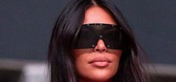 Kim Kardashian was really listening to Kanye West's 'Donda' on mute, lol