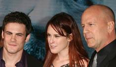 Bruce Willis doesn't care for Rumer's boyfriend Micah Alberti