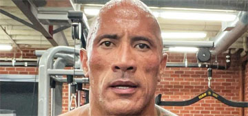 The Rock gives a shout out to lookalike police officer in Alabama