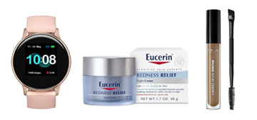 A lounge set, an affordable smart watch and a night cream that relieves redness