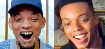 Will Smith tells Jabari Banks that he will play the lead in the Fresh Prince reboot