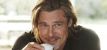 Brad Pitt is the new face of De'Longhi coffee, he drinks three cappuccinos a day