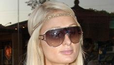 """Paris Hilton's unfortunately revealing outfit"" morning links"