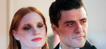 Oscar Isaac & Jessica Chastain brought their hot AF chemistry to Venice