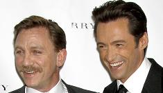 Hugh Jackman & Daniel Craig: the Walrus & the Showman