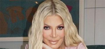 Tori Spelling looks so much like Khloe Kardashian now