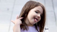 Suri Cruise rocks leopard-print flats, has $3 million wardrobe