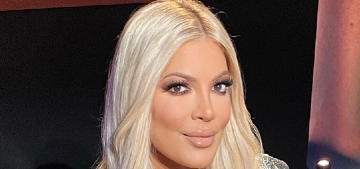 Tori Spelling really likes it when you compare her to Khloe Kardashian