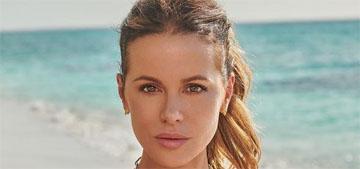 Kate Beckinsale rushed to hospital after back injury on set