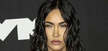Megan Fox wore Mugler hosiery to the MTV VMAs: cute or too rock chick?