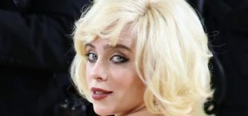 Met Gala co-chair Billie Eilish wore Oscar de la Renta & channeled Marilyn Monroe