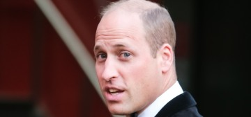 Prince William stepped out in velvet for The Sun's Who Cares Wins Awards