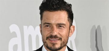 Orlando Bloom had a great white shark encounter while paddleboarding (clothed)