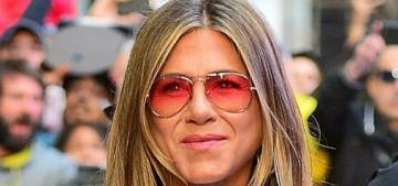 Jennifer Aniston won't write a memoir: 'I have nothing to memoir about just yet'