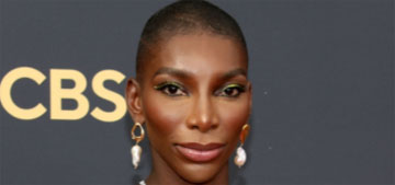 Michaela Coel wore Christopher John Rogers and won for writing at the Emmys