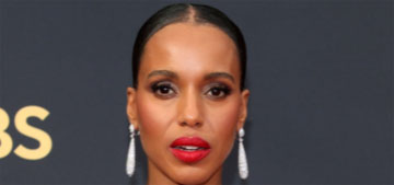 Kerry Washington presented the Emmy that should have gone to Michael K. Williams