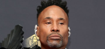 Billy Porter was a fashionable bird at the 2021 Emmys in Ashi Studio