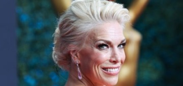 Hannah Waddingham in Christian Siriano at the Emmys: pretty in pink?