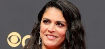 Cecily Strong in Elie Saab at the Emmys: flattering or way too much?