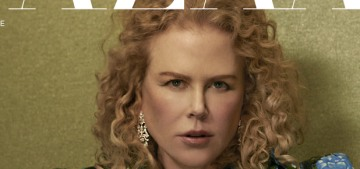 Nicole Kidman doesn't 'have a big social life, I have my work & my family'