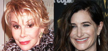 Kathryn Hahn will play Joan Rivers in a limited series set in the 80s