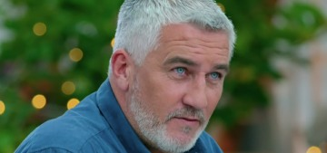 Are Paul Hollywood's blue eyes real?  According to him, they are.