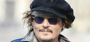 Johnny Depp laments cancel culture in a scarf-covered word salad