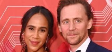 Tom Hiddleston & Zawe Ashton looked beautiful at the Tony Awards