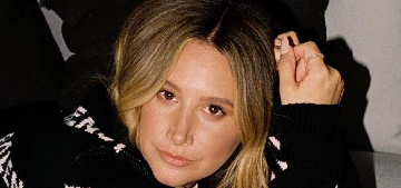 Ashley Tisdale: 'I'm still healing & occasionally will sneeze and pee at the same time'