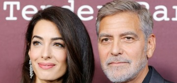 George Clooney: The 4-year-old twins 'speak fluent Italian, but Amal and I do not'